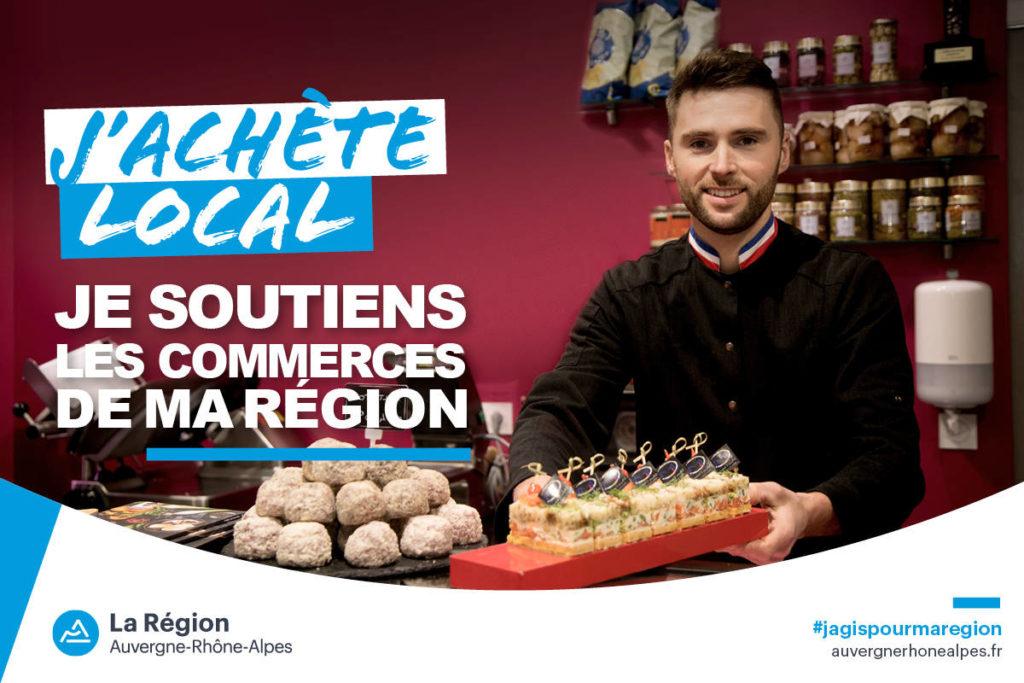 J'achète local Auvergne Rhône Alpes