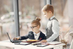 enfant entrepreneur chef d'entreprise