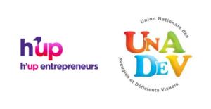 h'up UNADEV entrepreneur malvoyant handicap