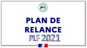 Projet Loi finances 2021 - PLF - Plan de Relance