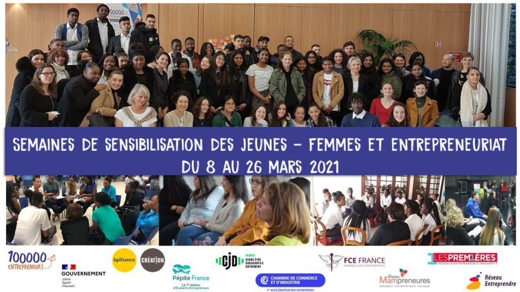 Semaine sensibilisation jeunes femmes et entrepreneuriat
